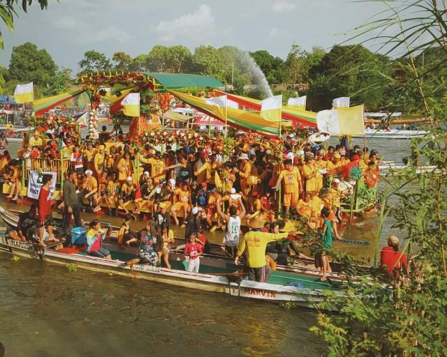 Apung Iru Fluvial Festival Apalit Pampanga Philippines