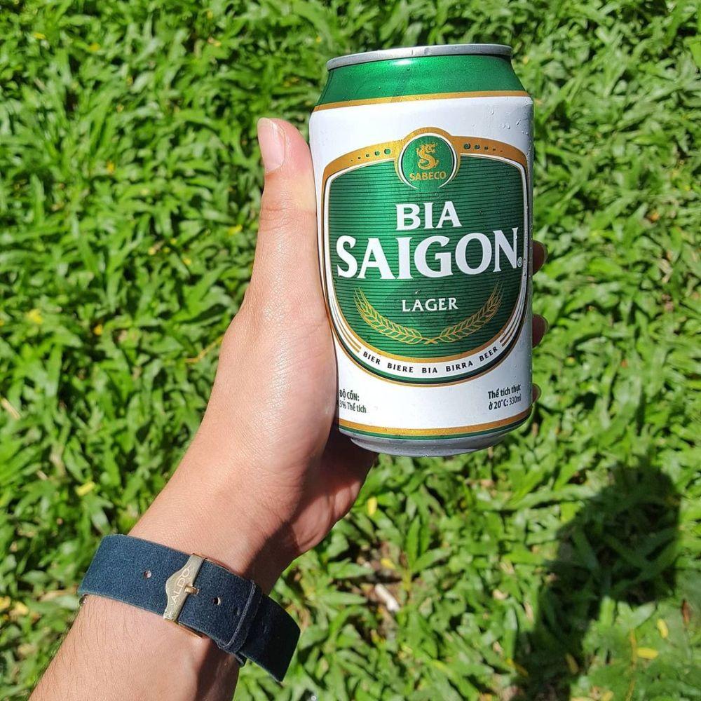 SOUTHEAST ASIA FOOD: Bia Saigon Vietnamese Beer