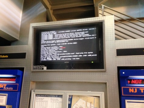 Linux at the airport