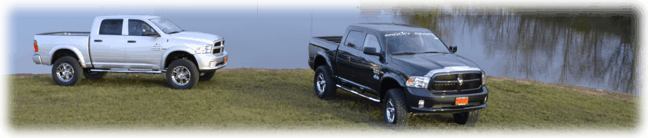 Used lifted trucks for sale