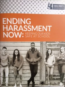 A new report from Equal Rights Advocates suggested specific steps that individuals, schools, and governments can take to stop sexual harassment in schools.