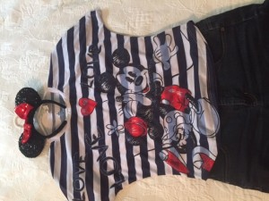 mickey and minne outfit