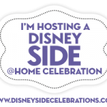 Frozen themed Disney Side @Home Celebration