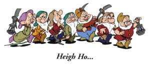Heigh Ho, Heigh Ho, It's Back to School We Go (excuse me if I'm Grumpy!)