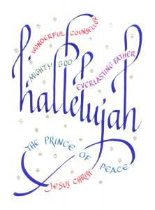 December 25: Happy Birthday, Jesus-Hallelujah!