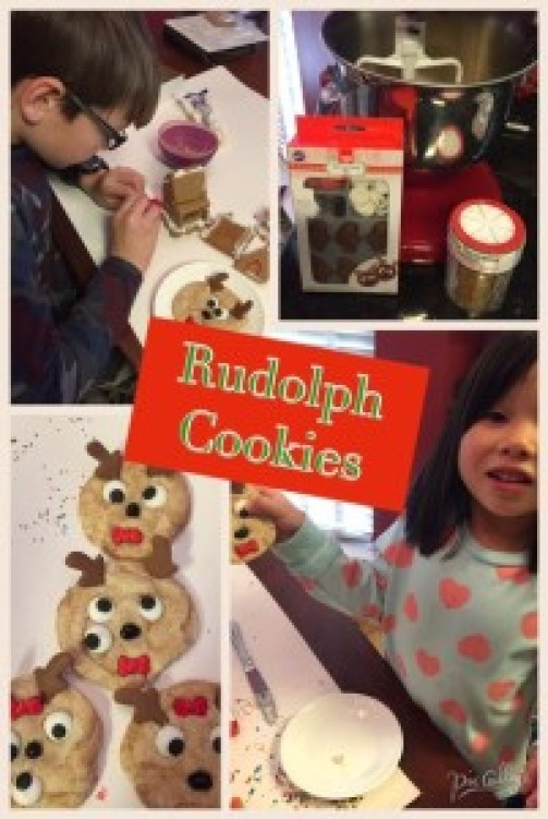 The steps for making Rudolph cookies and reindeer food are super easy; get all the supplies from Amazon and start baking!