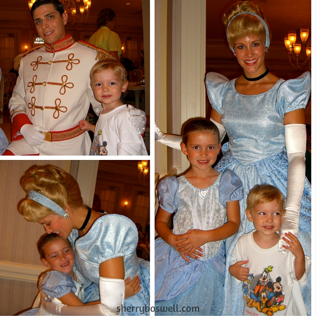 We had a CHARMING time at 1900 Park Fare with Cinderella and Prince Charming, one of the many reasons to love Grand Floridian Resort.