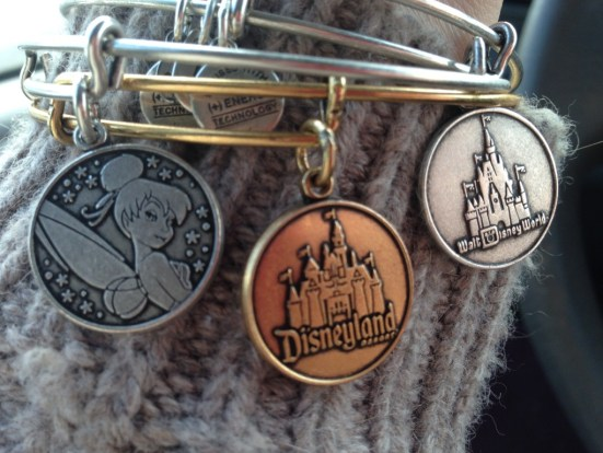 Definitely on the list from our holiday gift guide for Disney fans: Alex and Ani bracelets.
