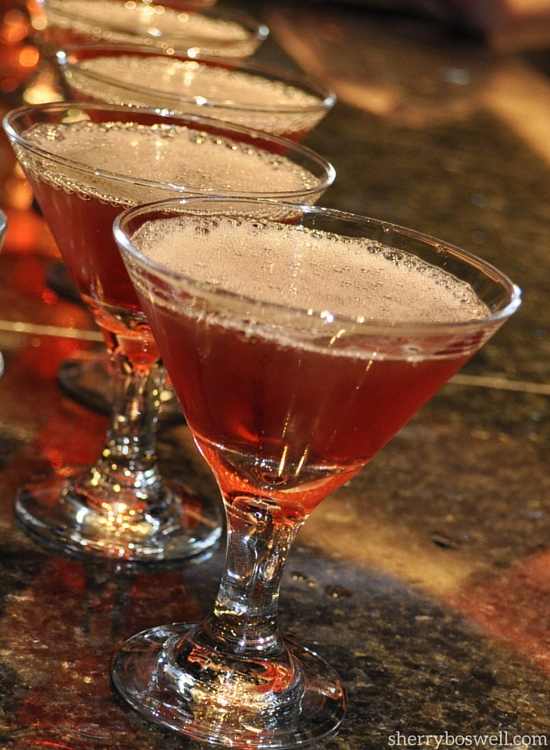 Try the PB&J martini at Skyline lounge