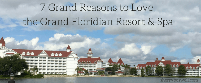 What a spectacular view of the Disney's Grand Floridian resort and Spa from the Seven Seas Lagoon