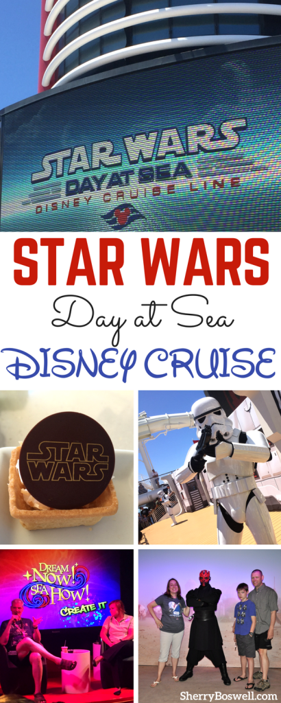 Star Wars Disney Cruise | A Disney Cruise with Star Wars Day at Sea: would Yoda approve? Find out you will! From Jedi Training Academy to character meets and Star Wars themed food, select sailings with Star Wars Day at Sea will have guests jumping to hyperdrive. Padawans and Jedis, use the force to see if this is the cruise you are looking for. #Disneycruise #StarWars #StarWarsDayatSea