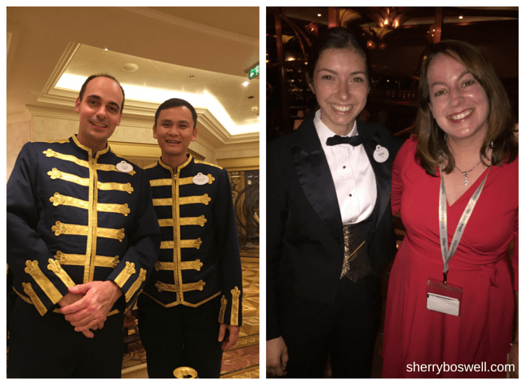 Disney Cruise advice | On the Disney Fantasy, thank your hospitable and attentive Disney Cast Members