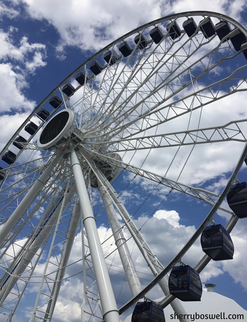 Chicago with Kids Teens Tweens | Navy Pier is home to the Centennial Wheel, an enclosed pod ferris wheel with great views of the city and Lake Michigan.