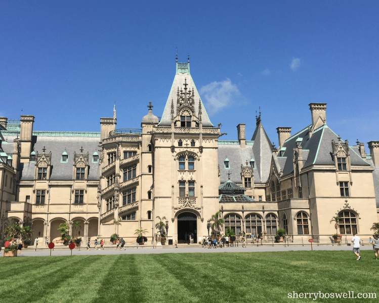 10 things to do in Asheville | As a National Historic Landmark, Biltmore Estate welcomes guests with one of the most majestic front lawns