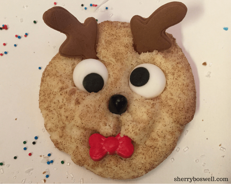 Holiday Recipes Rudolph Snickerdoodle Cookies And Reindeer Food