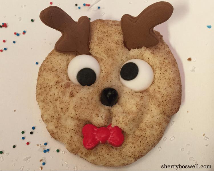 rudolph cookie reindeer food