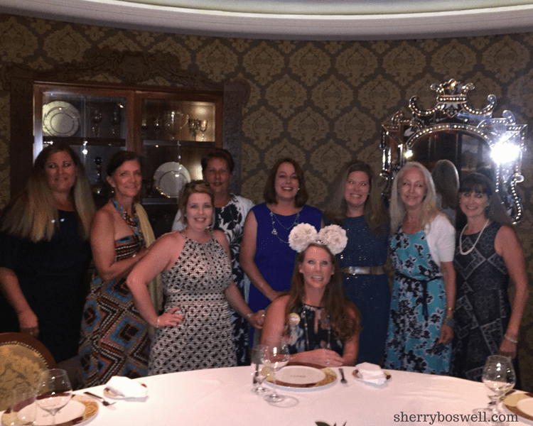 Disney Cruise Dining: Two Biggest Reasons to Try Palo | celebrating our friend's 40th birthday!