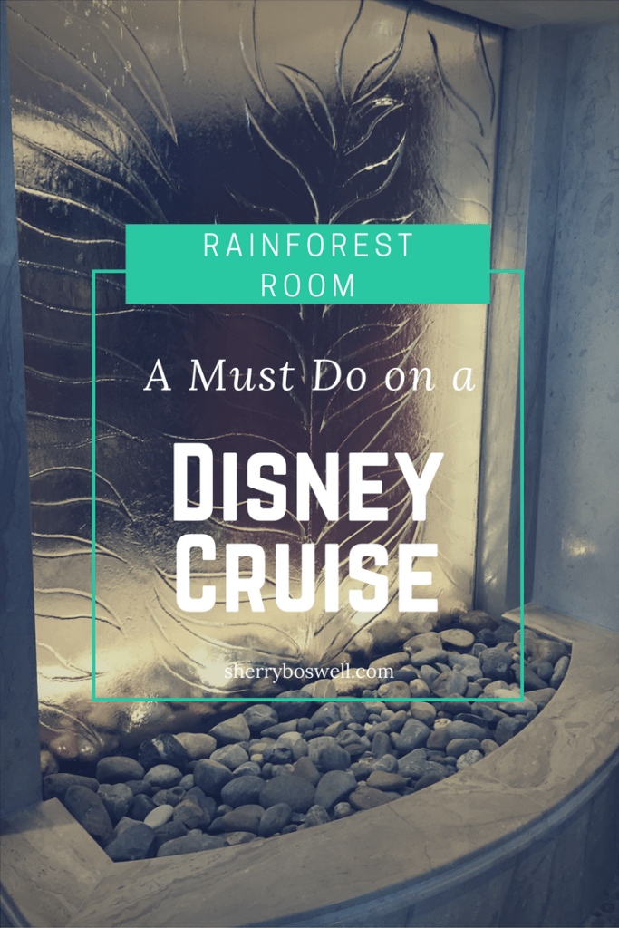 rainforest room must do disney cruise