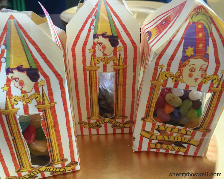 picture about Bertie Botts Every Flavor Beans Printable identify Developing a Harry Potter Occasion - Sherry Boswell