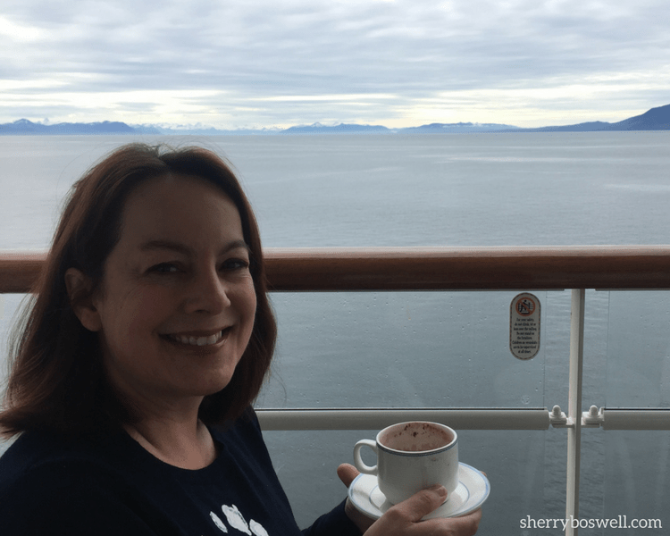 8 Do's and 1 Don't on Alaska cruise | Breakfast on the verandah onboard the Disney Wonder during our Alaska cruise was a decadent treat