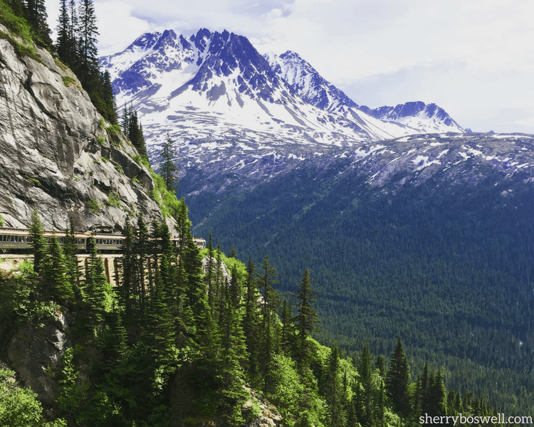 18 Travel Destinations in 2018 | Alaska is a bucket list spot for many because of experiences like the White Pass & Yukon Route Railway.