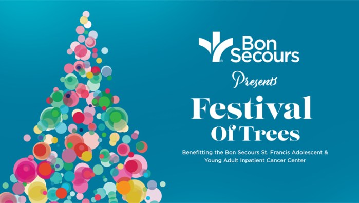 Holiday events in Greenville, SC include tree sightings and a Teddy Bear luncheon all to benefit the Bon Secours cancer center, which places it on the list of best Greenville, SC holiday events.