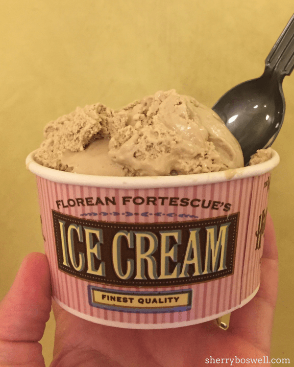 Universal Orlando's Wizarding World of Harry Potter tips | Don't miss Florian Fortescue's ice cream in Diagon Ally at Universal Studios Florida