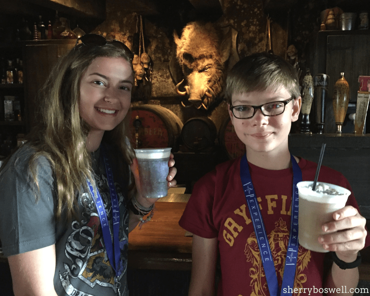 Can't miss attractions at Universal Orlando's Wizarding World of Harry Potter including Butterbeer at Three Broomsticks