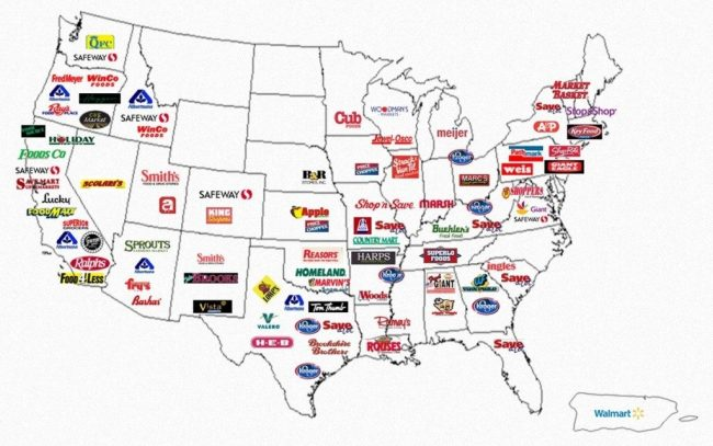 Cafe Valley Bakery Dr. Pepper retailers map