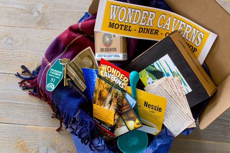 One of our most unique finds for Best Subscription Boxes for the holidays has to be Wonderful Objects, part storytelling and part adventure.