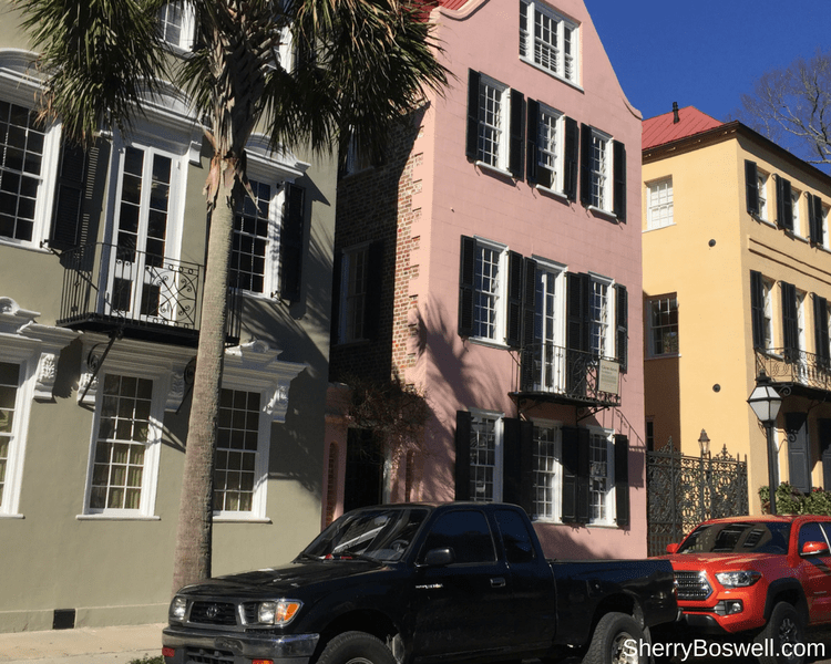 18 Travel Destinations in 2018 | Rainbow Row in Charleston is both colorful and historic