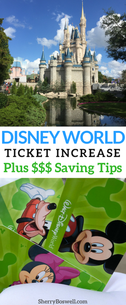 Disney World Tickets Increase | Don't let the recent Disney World and Disneyland ticket increases get you down in the dumps like Eeyore. Be a Tigger with these money-saving tips that are sure to have you planning a visit to Disney World from the Hundred Acre Woods real soon. #DisneyWorld #Disneytickets #Disneytips