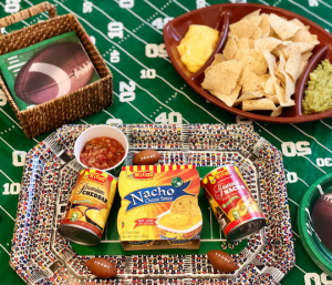 "Game Day Recipe and ""Cheesy"" Halftime Commercial"