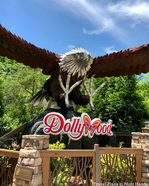 Dollywood is a must do in Pigeon Forge, part of our Where to Stay, Eat, and Play in Pigeon Forge, TN list. Favorite ride: the Wild Eagle roller coaster.