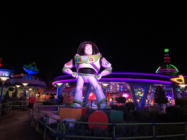 Biggest Toy Story Land tip: nighttime is the right time to visit Buzz and Woody and TSL