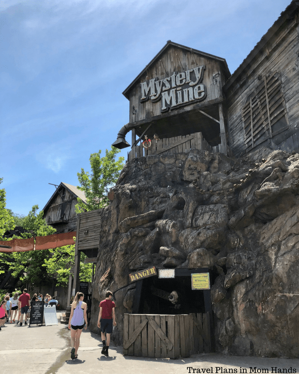 Dollywood boasts awesome roller coasters like the Mystery Mine, part of our Where to Stay, Eat, and Play in Pigeon Forge, TN series