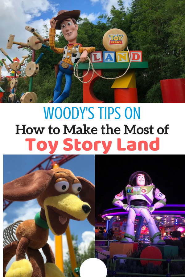 Toy Story Land is here! Grab these Woody approved tips for how to make the most in this new land at Disney's Hollywood Studios at Walt Disney World. Includes tips on FastPass, new Play Disney parks app, mobile ordering, food, and merchandise. #toystoryland #playbig #hosted #TMOMDisney
