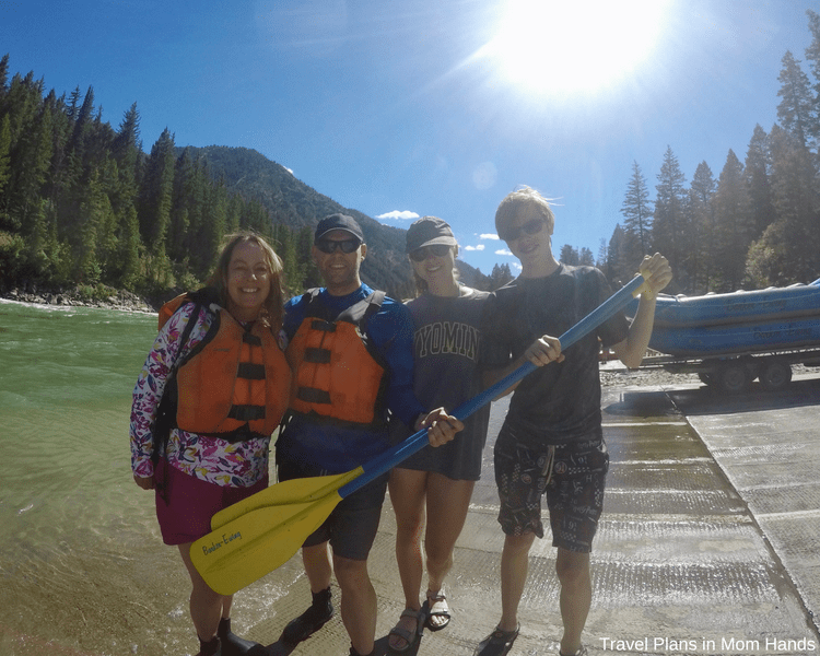 Family fun and all smiles after our Barker-Ewing whitewater rafting trip, one of the best things to do in Jackson Hole