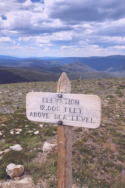 12,000 feet above sea level on the Alpine Trail of the Rocky Mountain National Park; one of of may national parks to be celebrated during National Park Week.