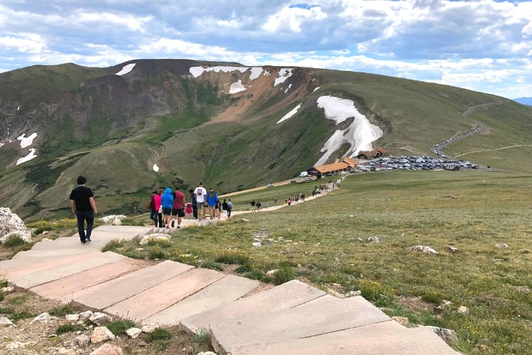 In honor of National Park Week, we're reflecting back on some of our favorites, including Rocky Mountain and this view of the Alpine Trail.