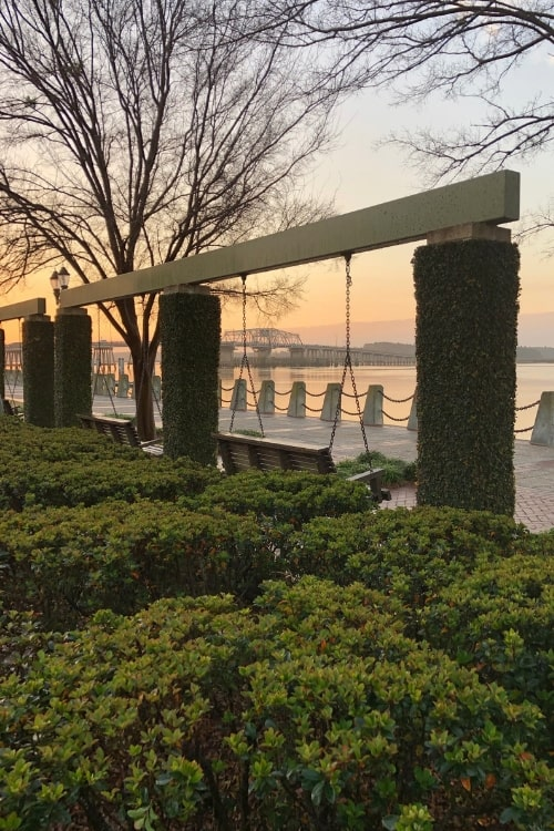 Waterfront Park is one of the places visitors will undoubtedly find themselves when visiting blissful Beaufort, SC