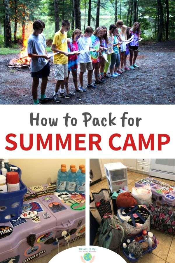 What time is it? SUMMERTIME! (Sorry if that triggered the High School Musical soundtrack in your head. Just me? Oh well.) Which means families are getting ready for vacations, no school, and the rite of passage known as summer camp. To get packing for summer camp, we have a few tips and tricks for you. #summercamp #camp #packing #summer