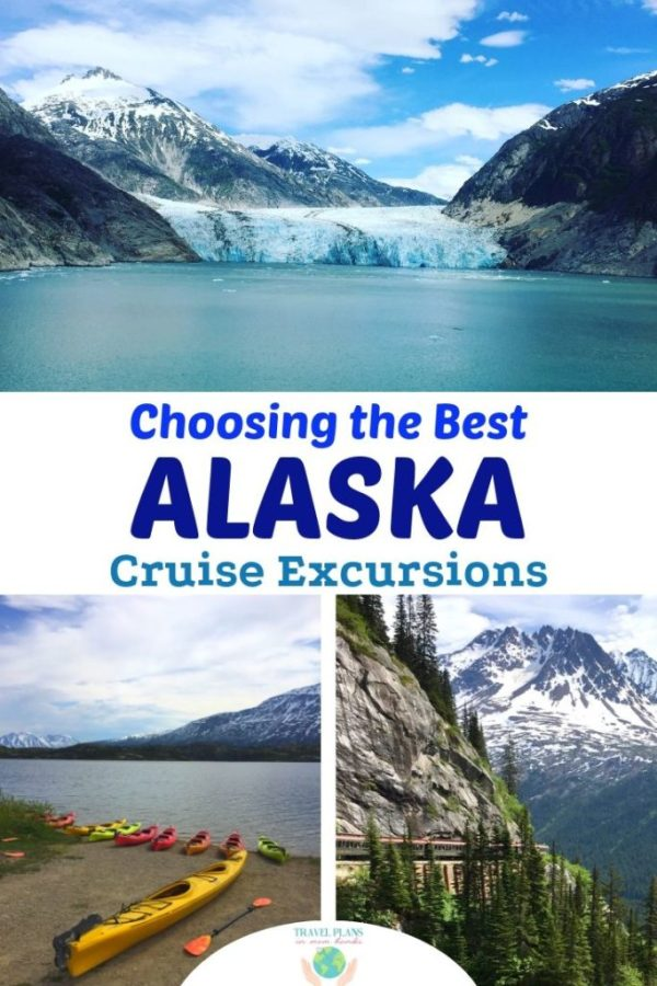 You're ready to cruise Alaska-next up: what excursions to book! What sets an Alaskan cruise apart really are all the fun adventures available OFF the ship. We're breaking down all the cruise excursions worth melting for in Skagway, Ketchikan, Juneau, and Endicott Arm. #Alaska #Alaskan #cruise #excursions #Alaskacruise
