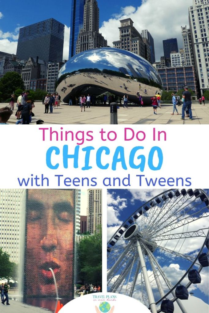 "Chicago with Kids Teens Tweens | Bueller? Bueller? Finding the ""Twist and Shout"" moments in Chicago with teens and tweens is easy! Follow our 2 day itinerary for the best of the Windy City that will have the kids even admitting it was cool! #Chicago #chitown #teens #travel"