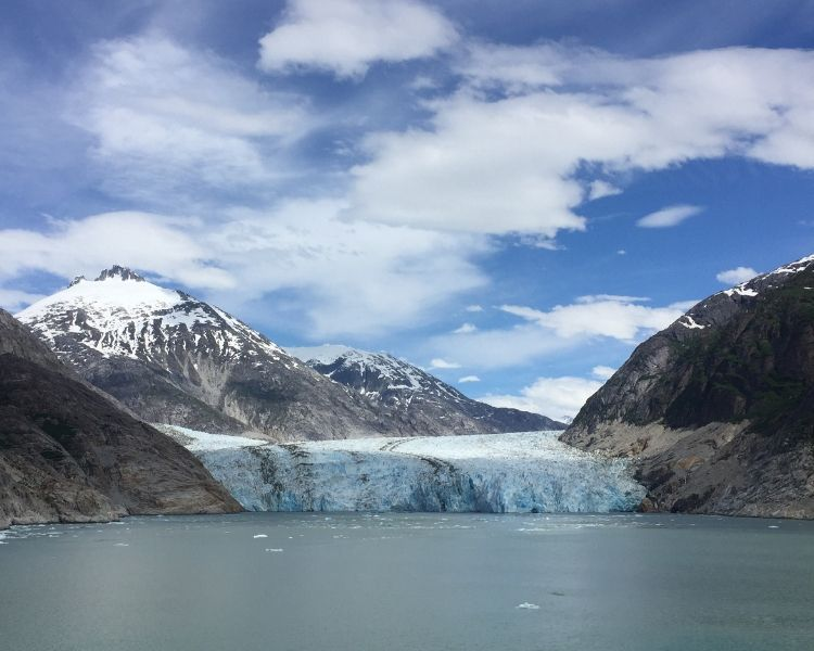 Dawes Glacier makes for an amazing site at Endicott Arm, placing it squarely in our Alaska excursions list.