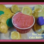 Red Velvet Cake Batter Dip