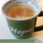 Easiest Homemade Eggnog