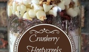 Cranberry Hootycreeks Cookies in a Jar