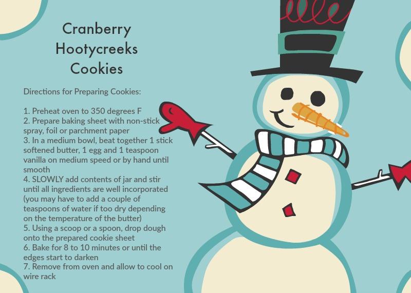 Cranberry Hootycreeks Cookies