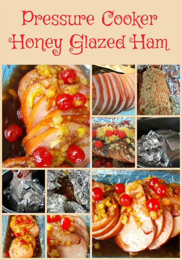 Pressure Cooker Honey Glazed Ham